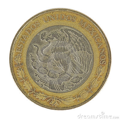Back of 5 Peso Coin