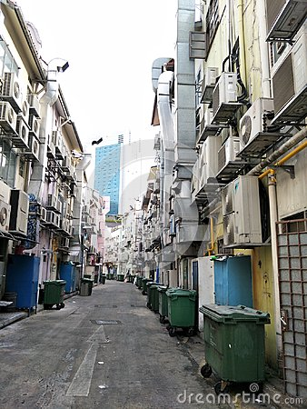 Free Back Alley At Circular Road, Singapore Stock Photography - 106454862