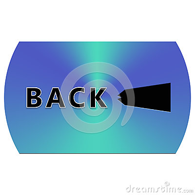 Free Back Button Stock Image - 94910691