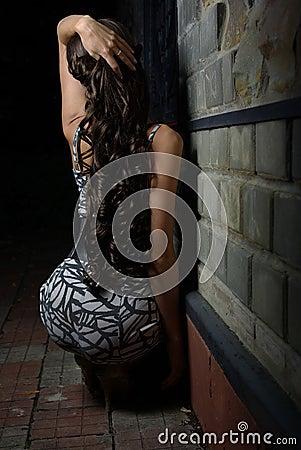 Back of a female