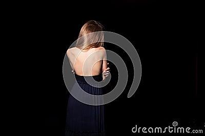 Back of girl