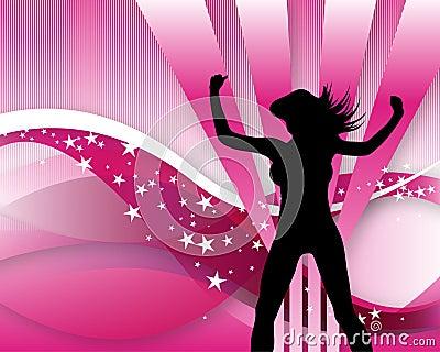 Back girlie pink