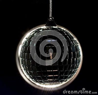 Back lit Disco Ball