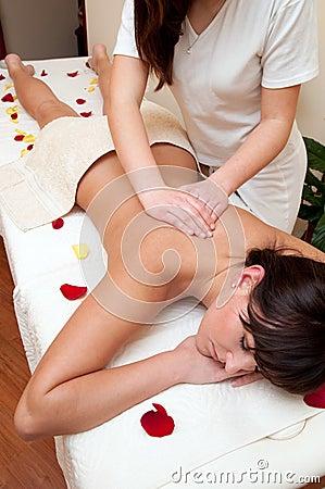 Free Back Massage Royalty Free Stock Photography - 13179267