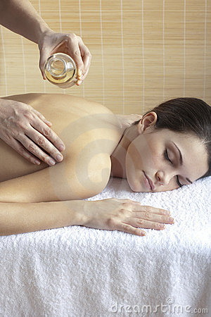 Back Massage with Oil