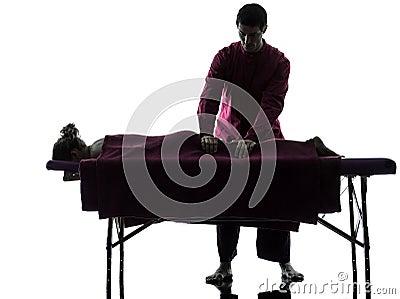 Back massage therapy