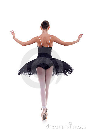 Free Back Of A Ballerina Royalty Free Stock Photos - 15159068