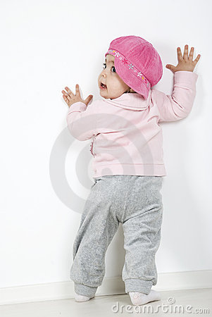 Free Back Of Full Body Baby Royalty Free Stock Photos - 14090318