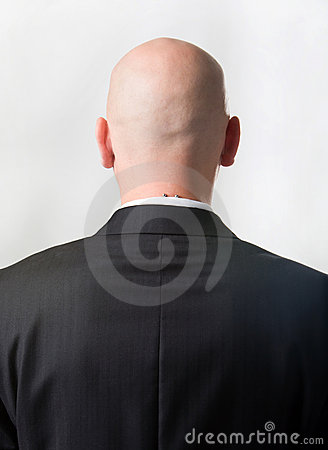 Free Back Of Man Royalty Free Stock Images - 6433339