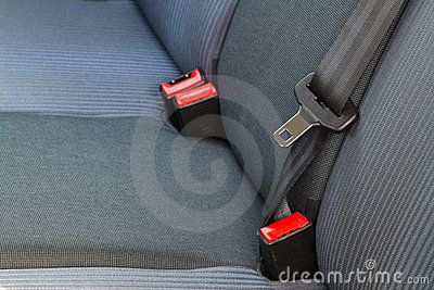 Back passenger seats in a car