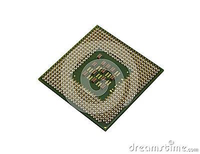 Back of processor