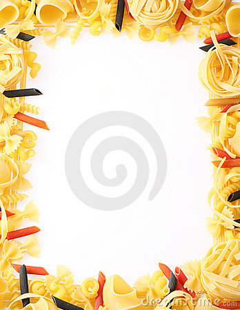 Back Projected (lighted) Macaroni Royalty Free Stock Photos - Image: 11919188