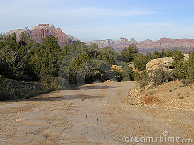 Back Road in Zion