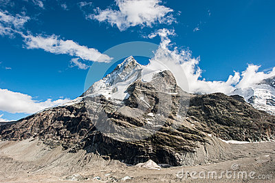 Back side of Matterhorn