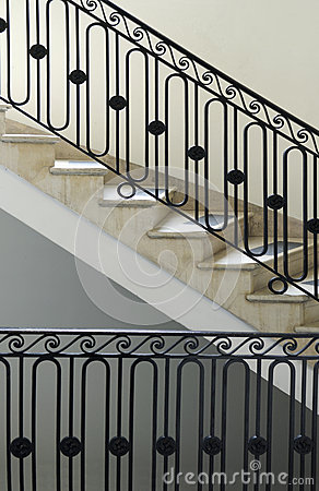 Free Back Staircase New York City Townhouse Stock Photo - 29857600