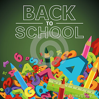 Free Back To School Background Royalty Free Stock Images - 43119879