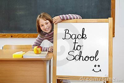 Back to school board