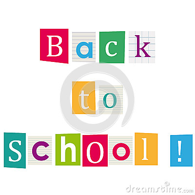 Back to school ! Books letters. Education background.