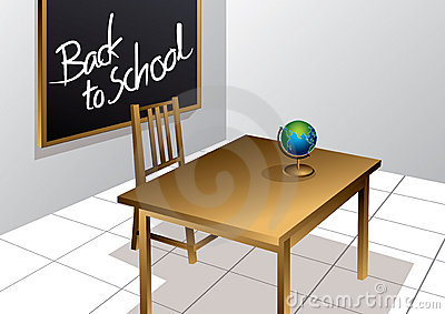 Back to School classroom