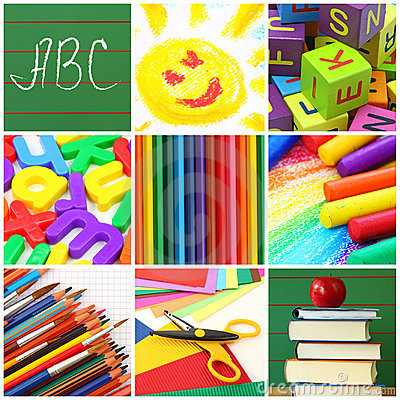 Free Back To School Collage Royalty Free Stock Images - 15650339