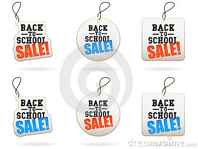 Back To School Sale Tags