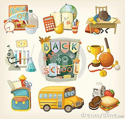 Free Back To School Set Stock Photos - 45825763