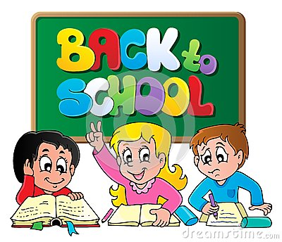 Back to school thematic image