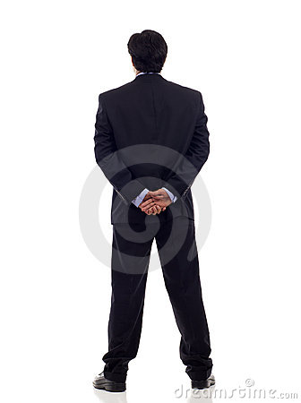 Free Back View Businessman Royalty Free Stock Image - 19382426