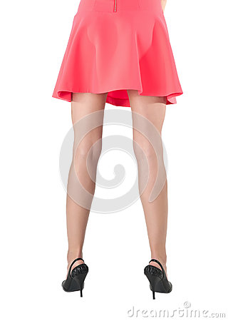 Free Back View Of Womans Legs Royalty Free Stock Images - 31413519