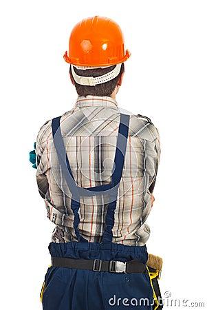 Back of workman