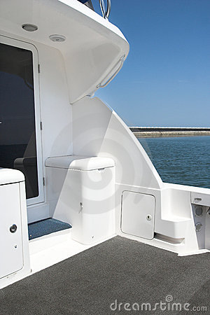 Back Of The Yacht