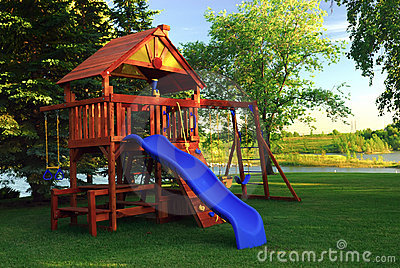 Back Yard Play Structure