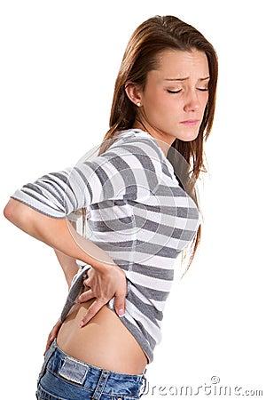 Backache Woman