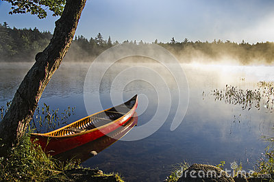 Backcountry canoe