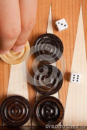 Free Backgammon Royalty Free Stock Photography - 10587107