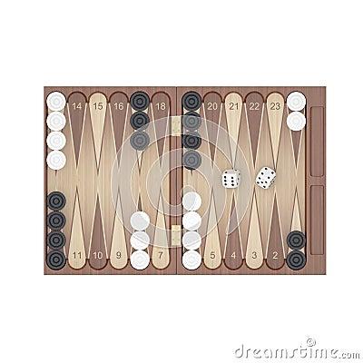 Free Backgammon Royalty Free Stock Photos - 21642118