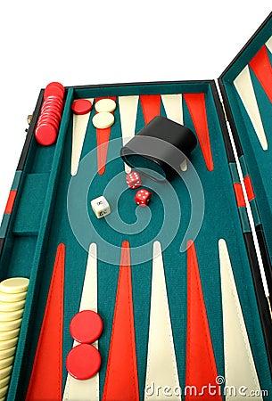 Free Backgammon Royalty Free Stock Photo - 334395