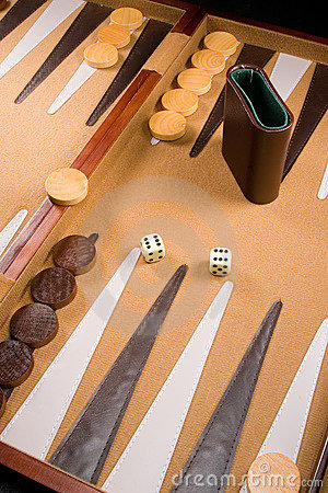 Free Backgammon Game Royalty Free Stock Photography - 4508917