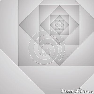Backgroun géométrique abstrait de gris de vecteur de prototype