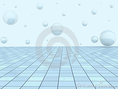 Background - an abstract geometrical illustration