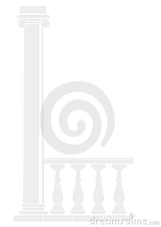 Background of architectural elements