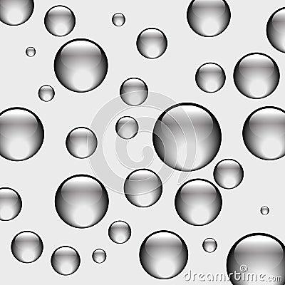 Background black balls