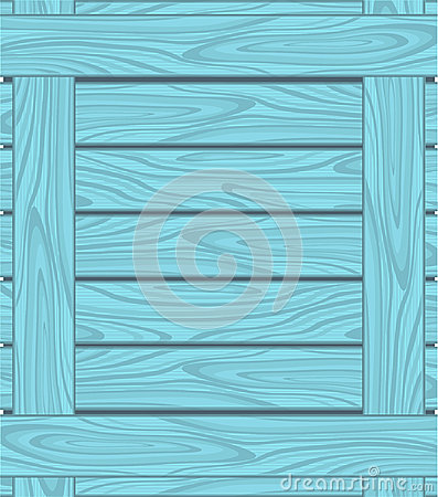 Background of blue boards with wood grain