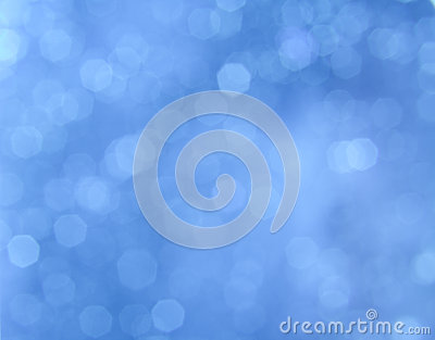 Background blue bokeh