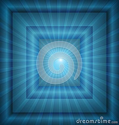 Background blue light vector