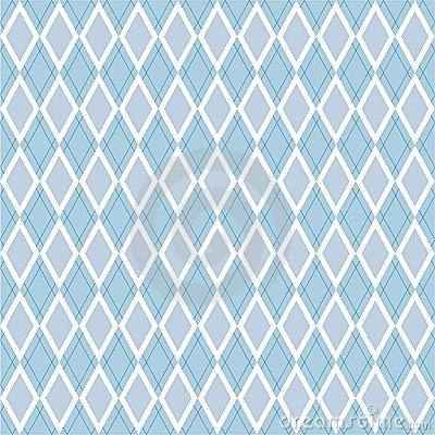 Background blue with rhombus