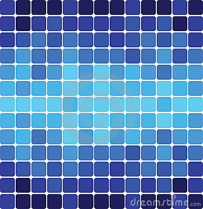 Background of blue squares