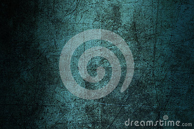 Background blue wall texture abstract grunge ruined scratched Stock Photo