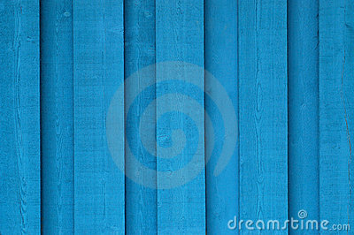 Background blue wood
