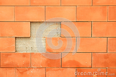 Background brick broke